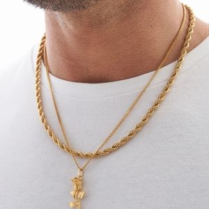5mm rope gold chain